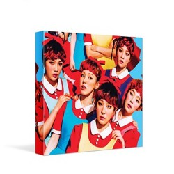 red velvet the red 1st album cd photo booklet card