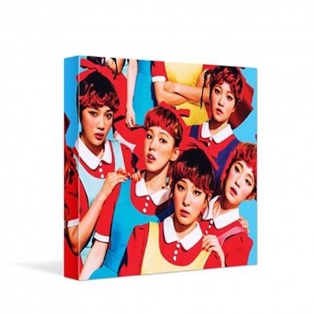 red velvet the red 1st album cd photo booklet card