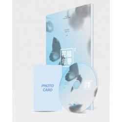 BTS in die bui vir liefde pt2 4de mini album blou CD foto boek kaart verseël