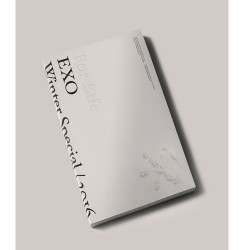 Екзо на життя 2016 року зимовий спеціальний фотоальбом 2cd photo book photo card sticker