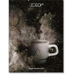 Екзо-Всесвіт 2017 зимовий спеціальний фотоальбом CD-буклет елемент