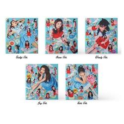 röd sammet rookie 4: e mini-album cd fotobok 1p kort förseglad