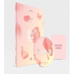 """BTS meilės nuotaika pt2 4-oji mini albumo """"Peach CD"""" fotografijos knygos kortelė uždaroma"""