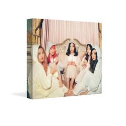 červená sametová sametová 2. mini album cd 48p fotokniha 1p karta