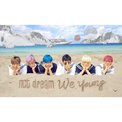 nct dream we young 1st mini álbum cd booklet regalo de la tienda de tarjetas fotográficas