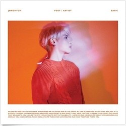 jonghyun poet i artist album cd booklet tarjeta fotográfica