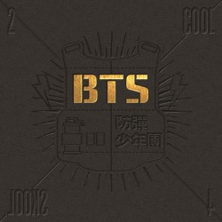 bts 2 cool 4 skool 1: a single album cd fotobok 1p presentkort k pop förseglad