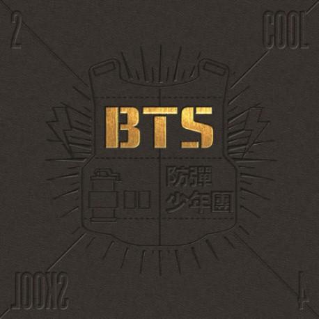 bts 2 cool 4 skool 1: a single album cd fotobok 1p presentkort k pop förseglad