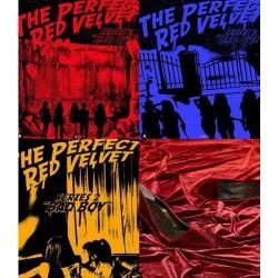 червената кадифена перфектна червена кадифена 2-ра опаковка с подарък за книжка