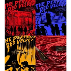 red velvet the perfect red velvet 2nd repackage cd booklet card gift
