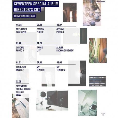 seventeen directors cut special album plot ver cd book etc pre gift store gift