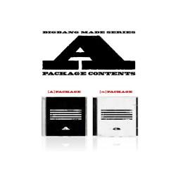 bigbang hizo una serie de un cd photo book tarjeta de foto del boleto del rompecabezas