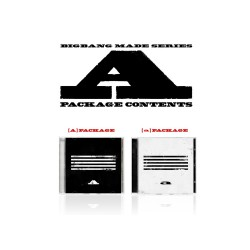 bigbang teki sarjan cd valokuvakirjan valokuvapapeli lippu
