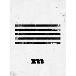 bigbang made series m white ver photo book photo card puzzle ticket