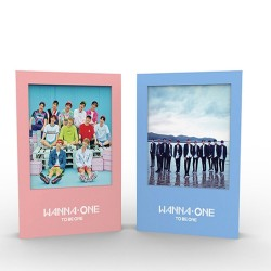 wanna one 1x1 1 to be one 1st mini album 2 ver cd sleeve card booklet etc