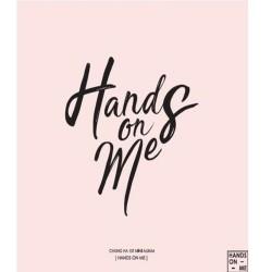 chungha hands on me อัลบั้มที่ 1 มินิอัลบั้ม cd booklet photo card k pop ioi 101