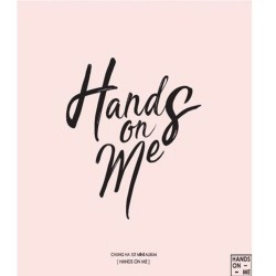 chungha manos sobre mí 1er mini álbum cd folleto tarjeta fotográfica k pop ioi 101