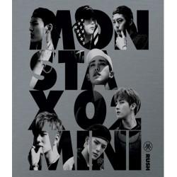 monsta x rush 2. mini album offisielt ver cd fotokort