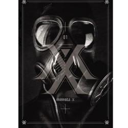 monsta x trespass 1-й альбом cd фото-карта 92p буклет