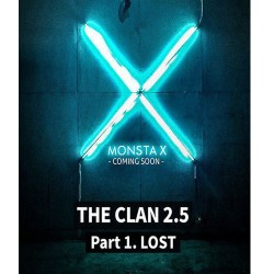 monsta x the clan 25 part1 lost 3rd mini album found cd photo book etc