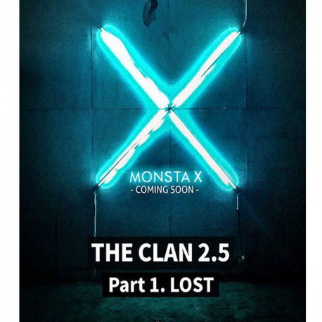 monsta x the clan 25 part1 lost 3rd mini album lost cd photo book etc