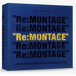 blok b re montage repackage album cd buklet foto kartu polaroid kalender