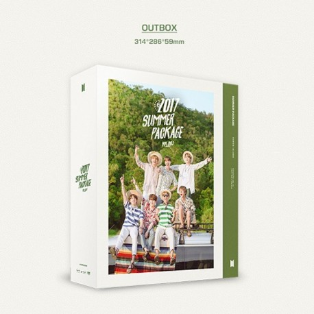 2017 bts summer package vol3 dvd photo book army fansticker selfie books gift