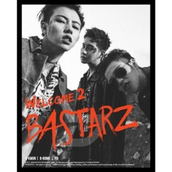 block b bastarz welcome 2 bastarz 2nd mini album