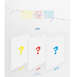 got7 eyes on you mini album 3 ver set cd photo book card