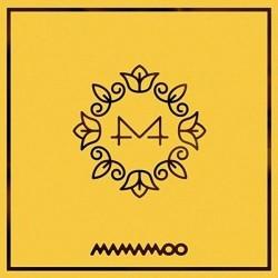 Mamamoo geel blom 6de mini album CD boekie fotokaart