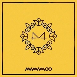 Tarjeta de la foto del folleto del cd del mini álbum de la flor amarill