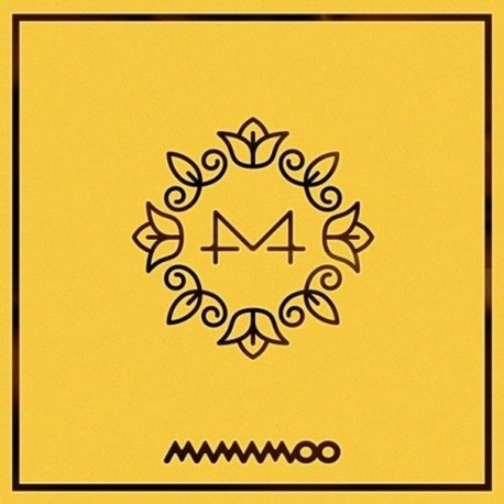 mamamoo yellow flower 6th mini album cd booklet photo card
