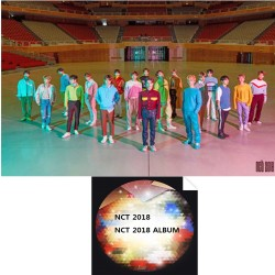 nct 2018 nct 2018 อัลบั้ม 2 ชุด ver set cd booklet photo card
