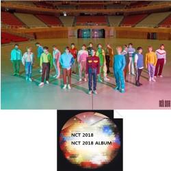 nct 2018 nct 2018 album 2 ver set cd brožurka fotografická karta