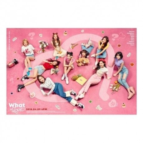 Twice What is Love 5th Mini Album Random CD Book Card etc Gift
