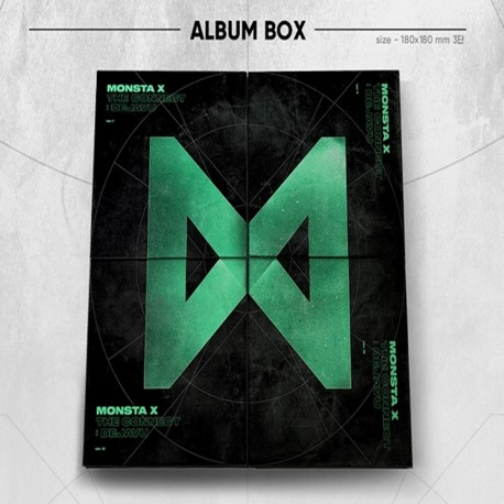 monsta x the connuet dejavu 4 ver album