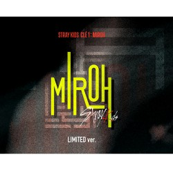 Stray Kids-[Cle 1:Miroh] Limited Album CD,Book,Card,Post