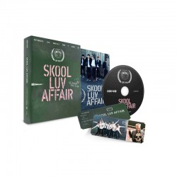 bts skool luv affair 2th mini album cd 115p booklet photo card