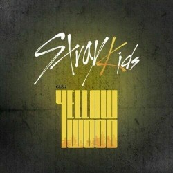 stray kids cle 2yellow wood normal random cd book card etc