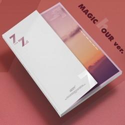 got7 7 7 sehrli saat versiyası cd mağaza hədiyyə preorder hədiyyə pop pop