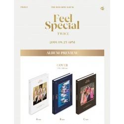 Twice Vad är Love 5th Mini Album Slumpmässigt CD-bokskort etc Present