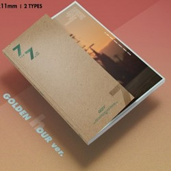 got7 7 pro 7 zlaté hodinové verze cd úložiště dárek předobjednávka dárek k pop utěsněné