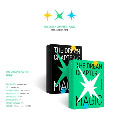 txt dream chapter magic 1st album