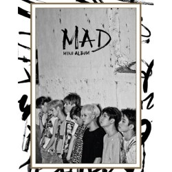 got7 mad 4 mini album pionowy ver cd foto book 1p karta jyp sealed k pop