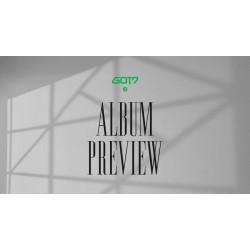 got7 ögon på dig mini album 3 ver set cd fotobok kort