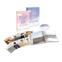 got7 volo log partenza got7 monografia cd, fotolibro, foto in piedi, tessera