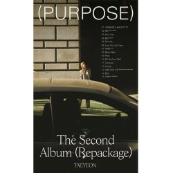 taeyeon purpose 2nd album