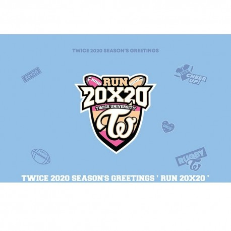 twice 2020 seasons greetings run 20x20