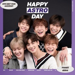 astro 2018 astro album unique spécial kihno ver kits carte de la carte de la photo