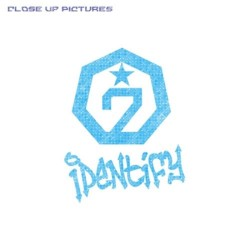 got7 identify 1st album close up ver cd ,photo book,1p polaroid card